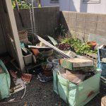 庭の片づけ「一軒家」
